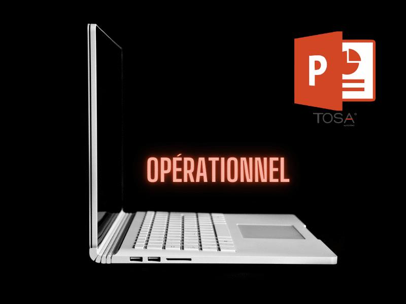 Powerpoint 2016 Niveau Initial vers Opérationnel