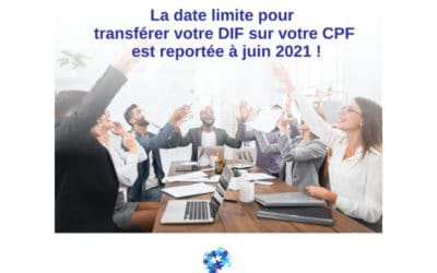 DIF, CPF, Compte formation