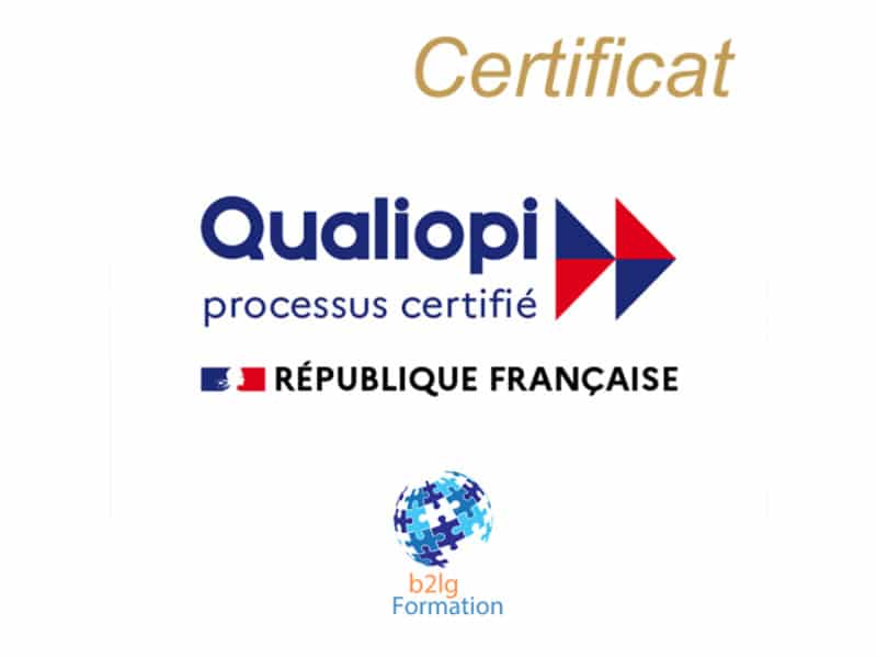 Certification qualité Qualiopi